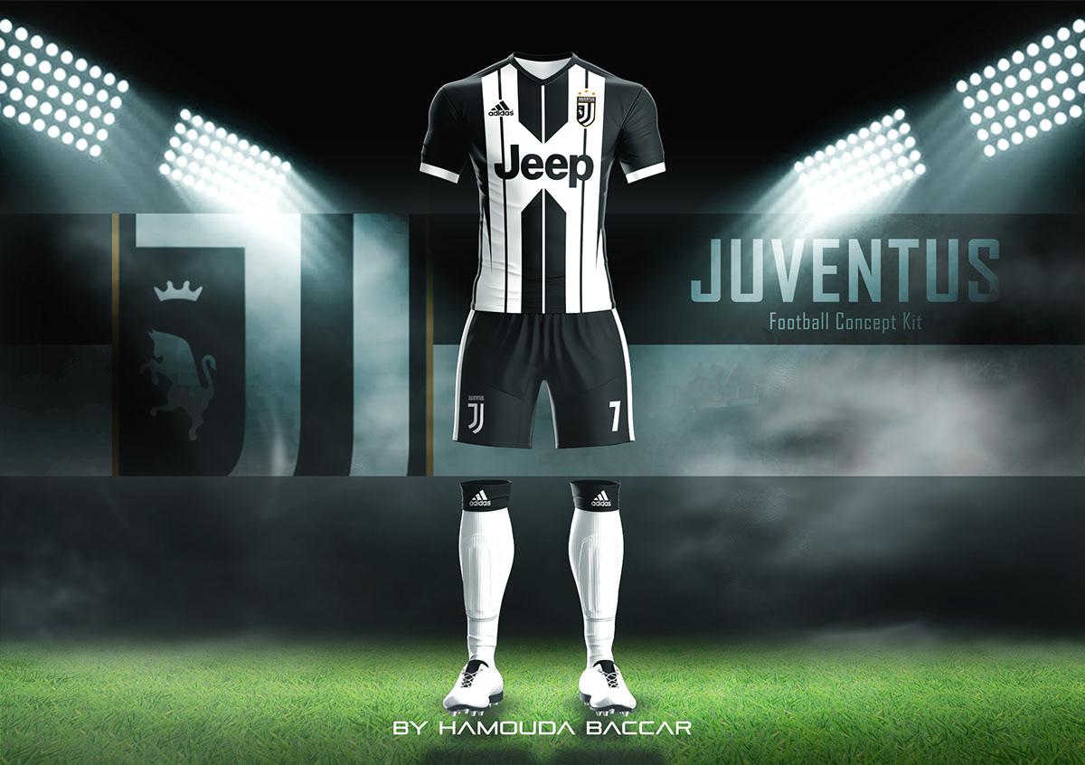 54d82ea18 JUVENTUS Football Concept Kit 2018 2019 on Student Show