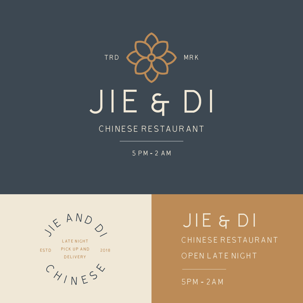 Jie Di Restaurant Brand Identity On Behance