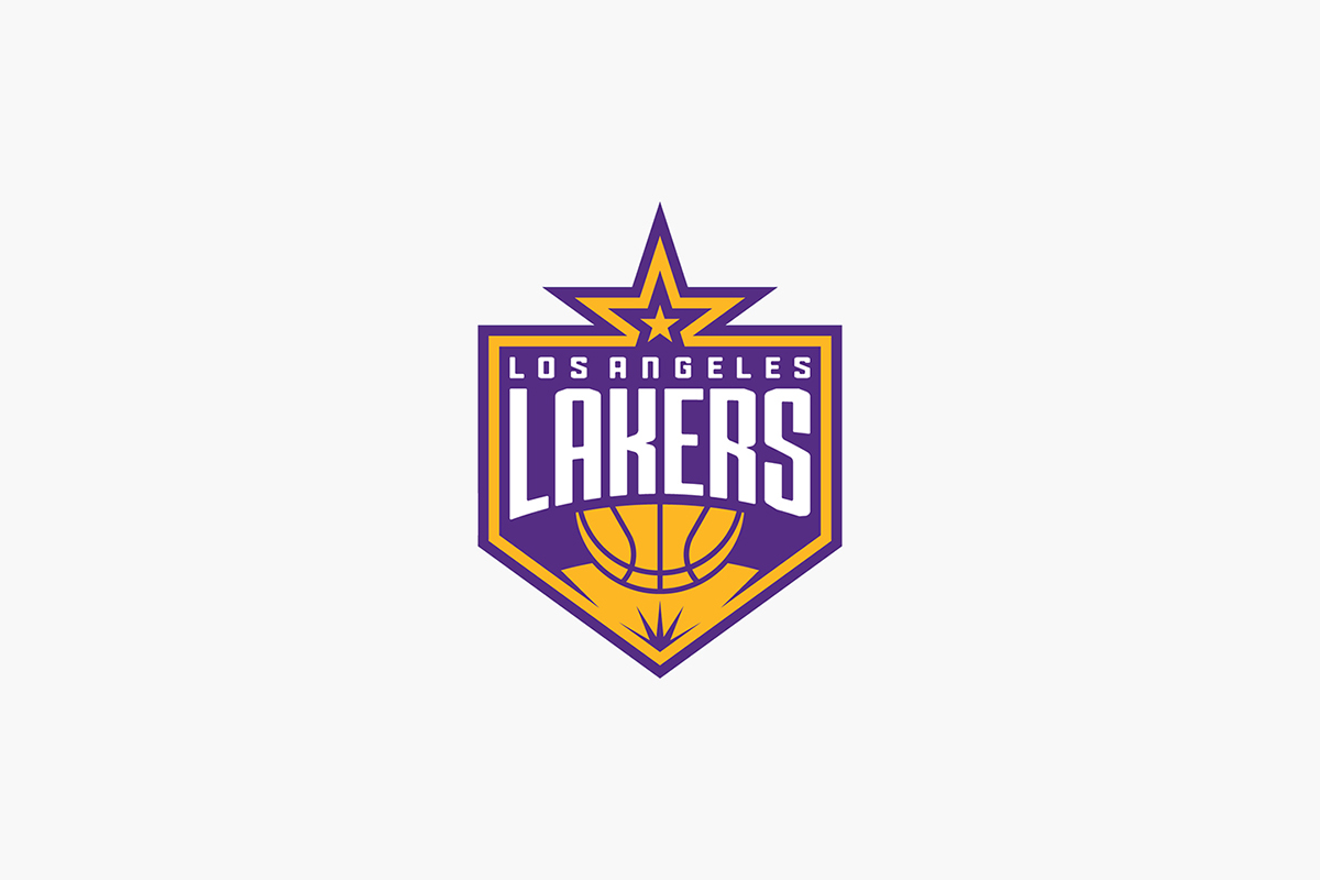 Los angeles lakers identity on behance los angeles lakers primary logo concept voltagebd Image collections