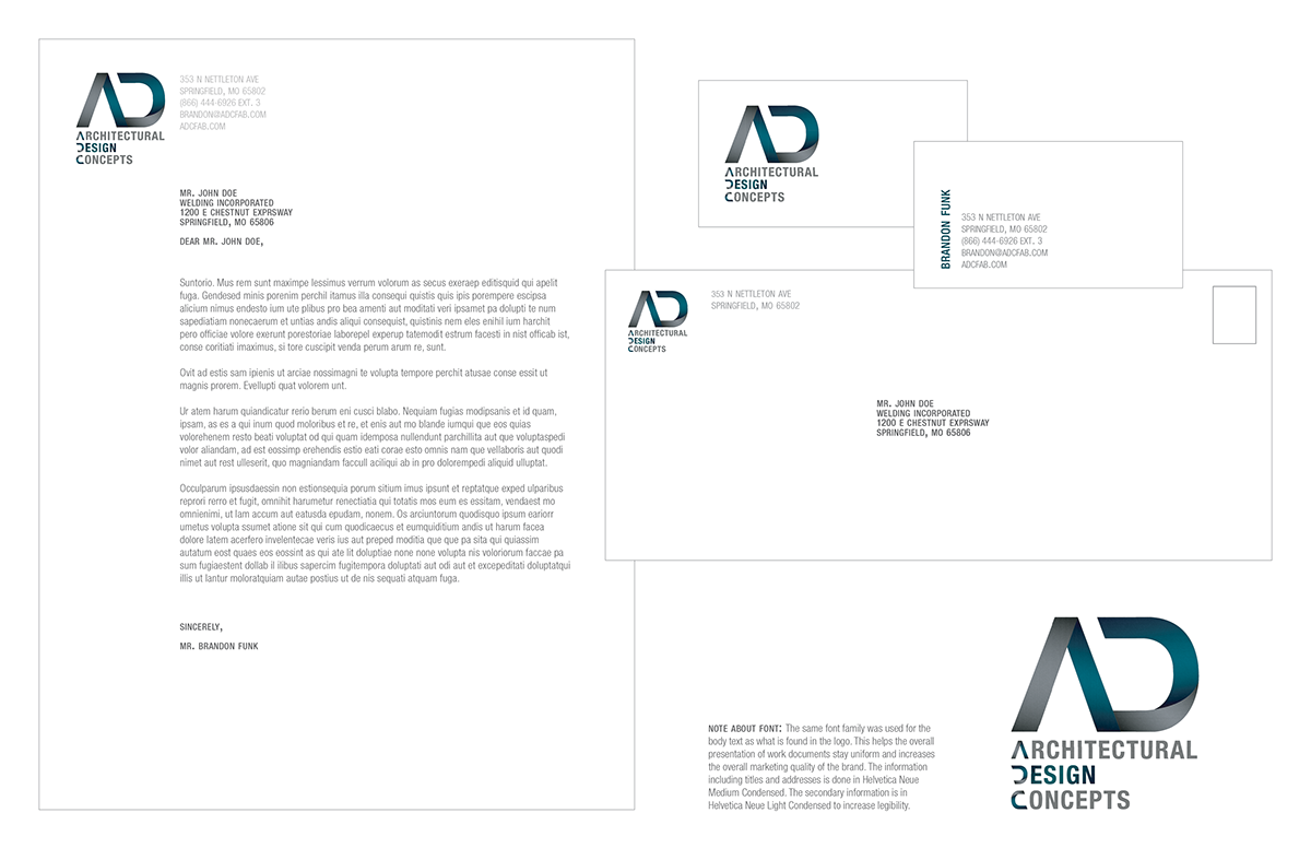 Adc Logo Design On Behance