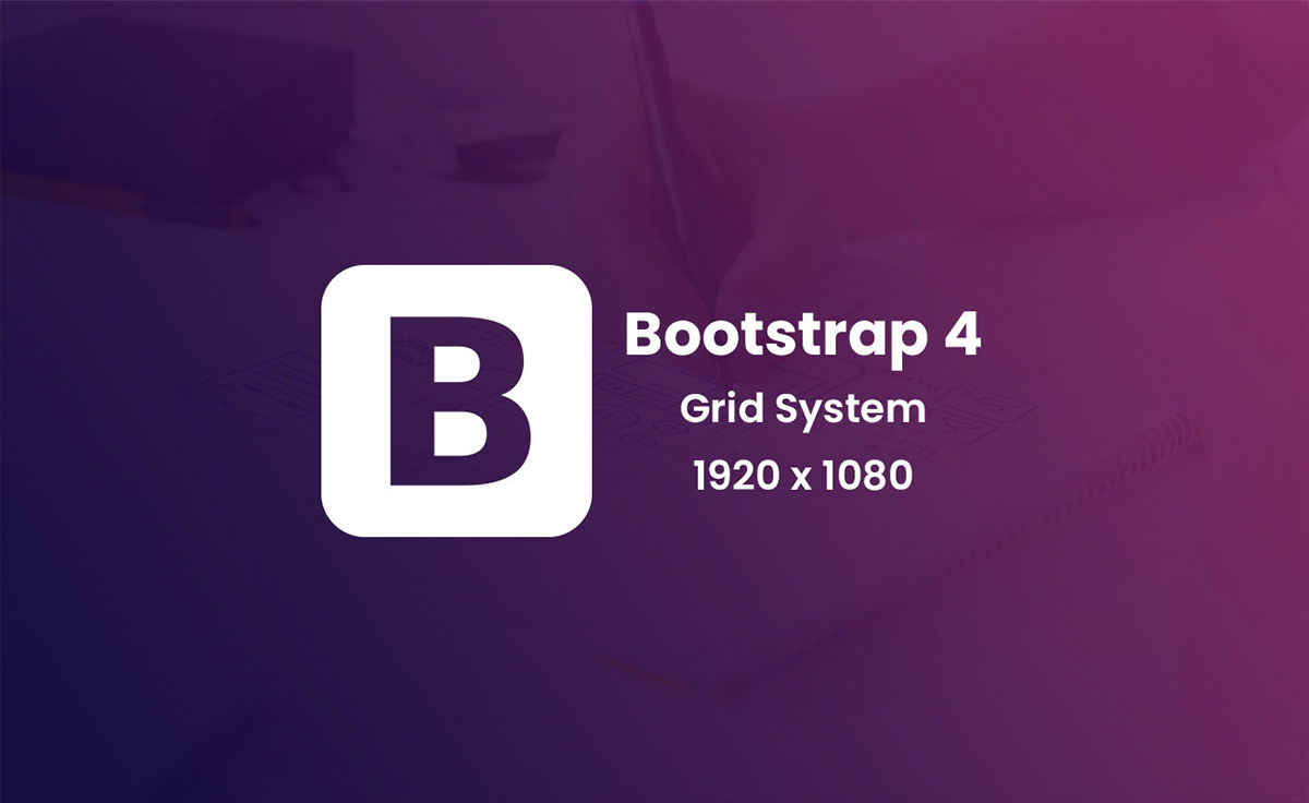 Bootstrap 4 Grid System Free Download Psd on Behance