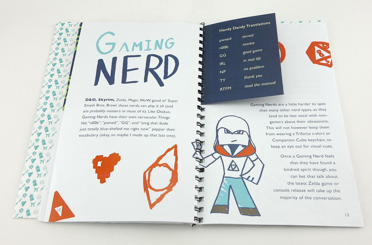 how to be a nerd