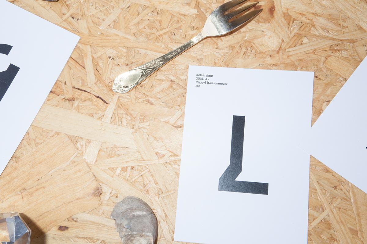 kottifraktur typeface on behance. Black Bedroom Furniture Sets. Home Design Ideas