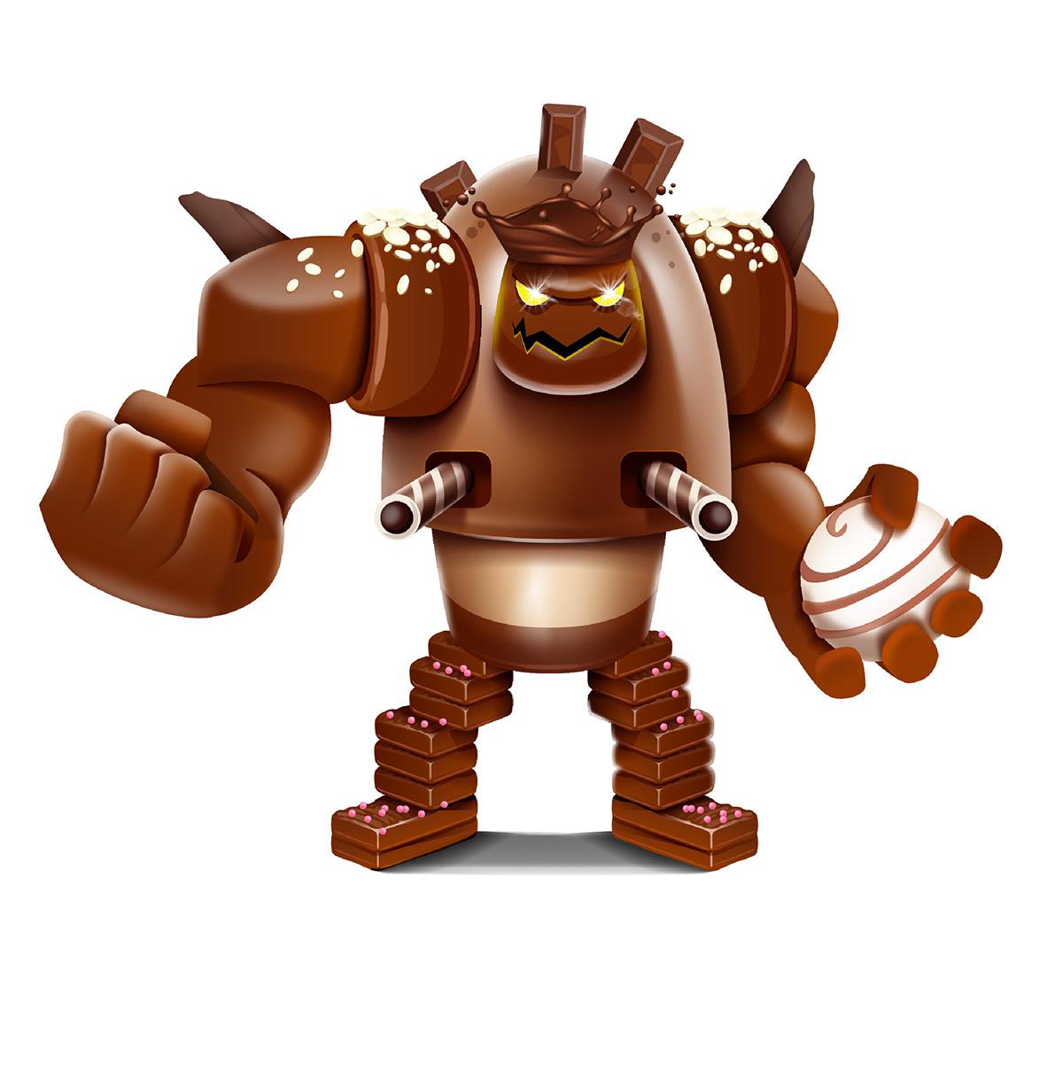 Bear character Candy character Chocolate Monster hero character Horse sea monster Muslim Kids PIRATE MAN serag basel سراج باسل