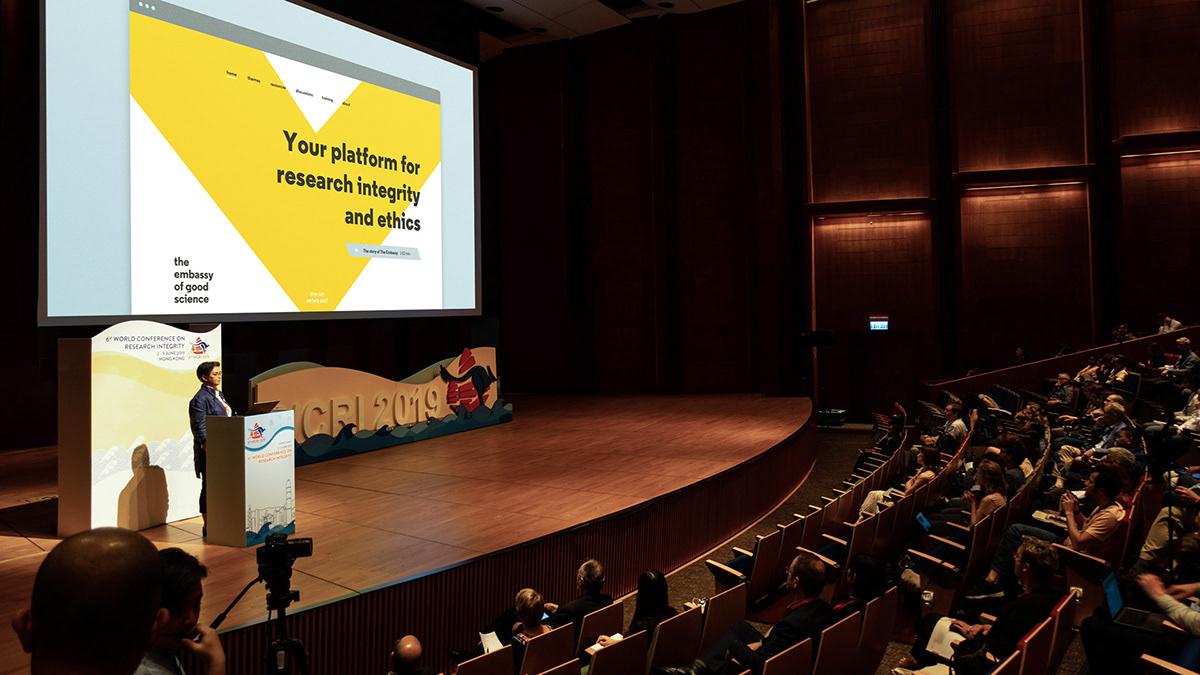 science embassy Hong Kong Amsterdam UMC Europe Good Science integrity Ethics Platform declaration