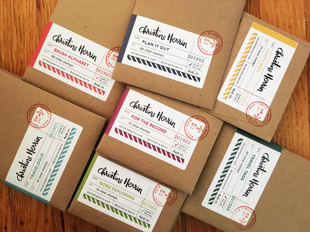 stamps scrapbooking personal branding series