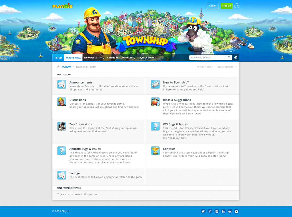 Banners Newsletters Forum Redesign Playrix On Behance - Game design forum