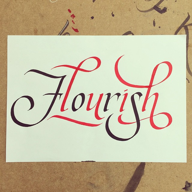Updated lettering calligraphy and sign painting on behance Calligraphy and sign