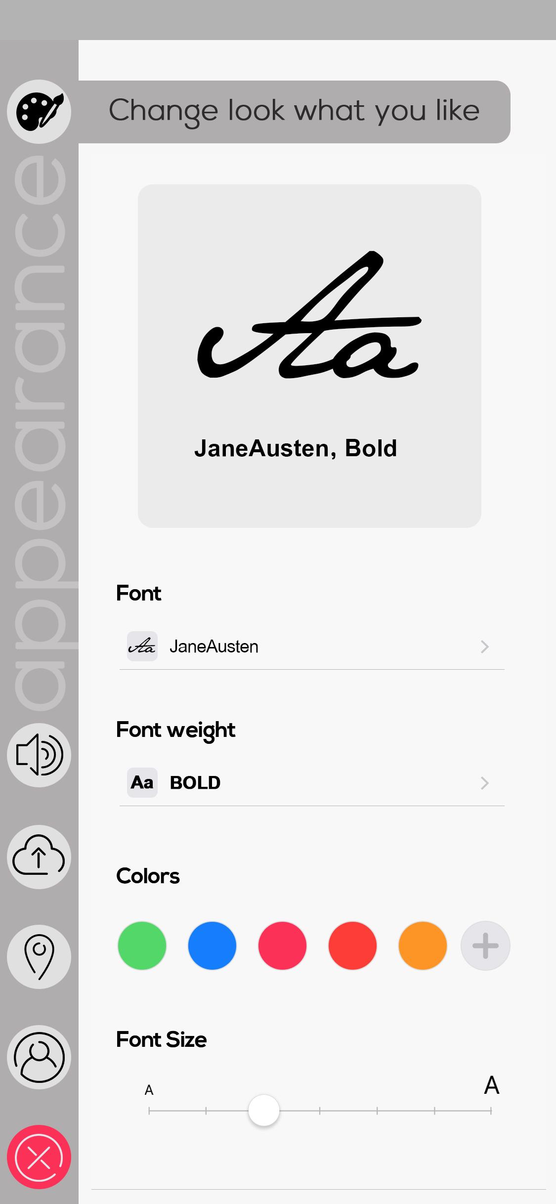 نمونه کار: طراحی رابط کاربری صفحه تنظیمات
