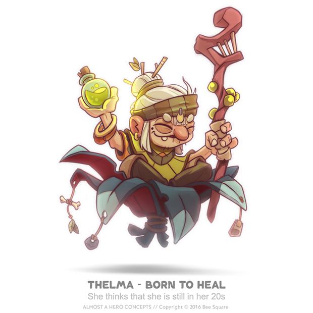 Character design  video game Hero adventure rpg wizard warrior Sword medieval fantasy