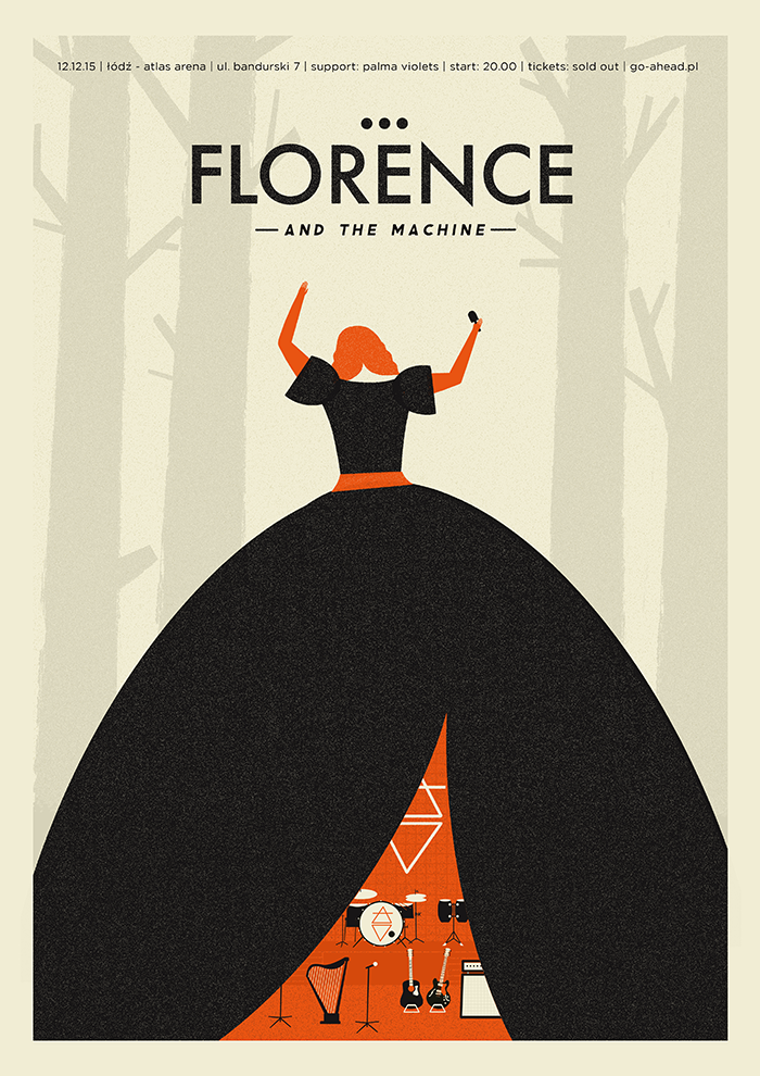 florence and the machine poster