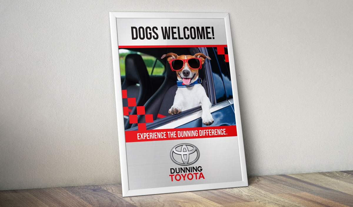 Dunning Toyota On Behance