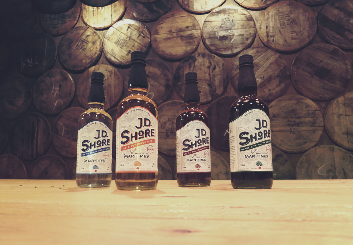 distillery Rum halifax marine Ocean Whale spirit shore barrel bar