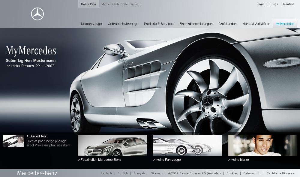 My Mercedes Crm Platform On Behance