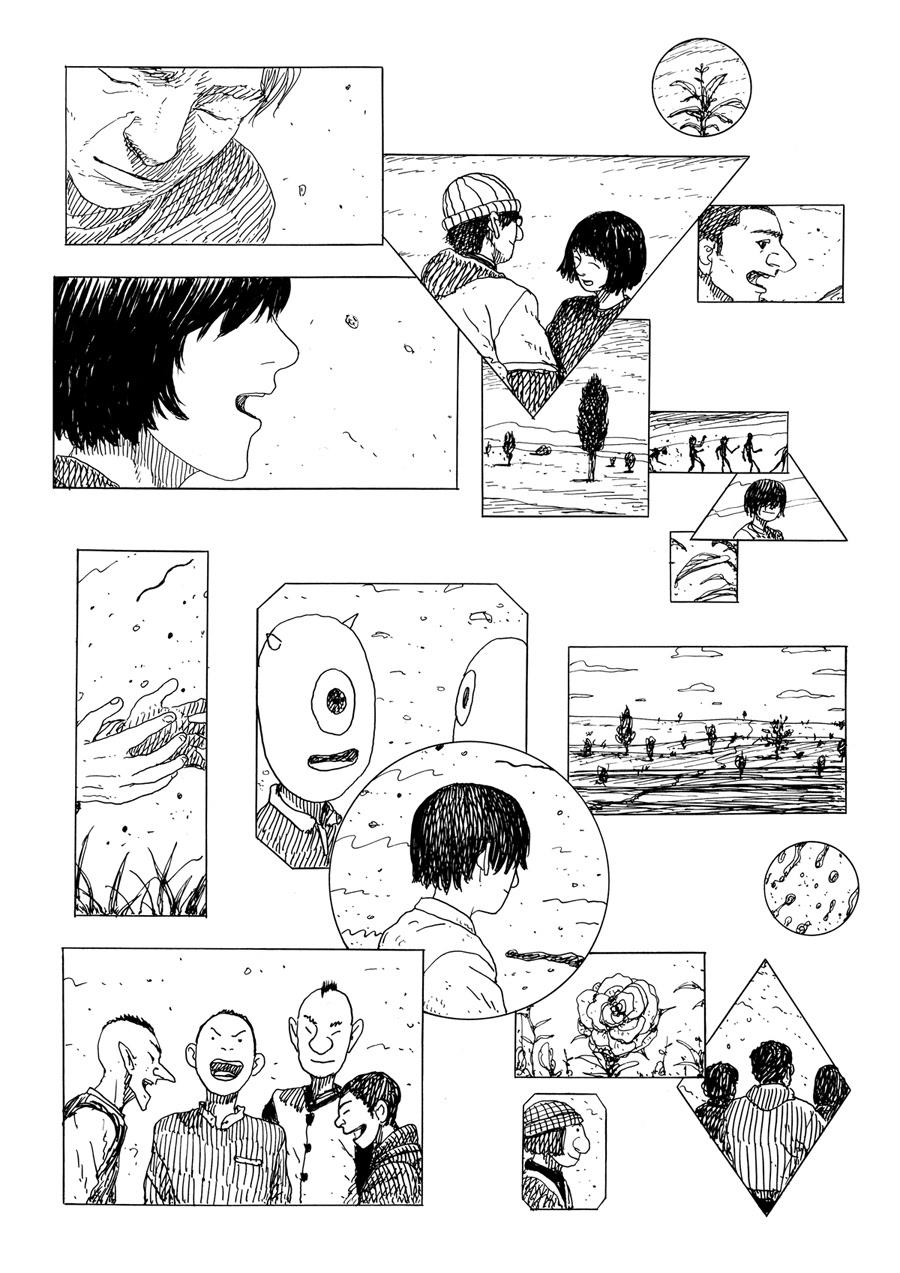 Image may contain: cartoon, drawing and sketch