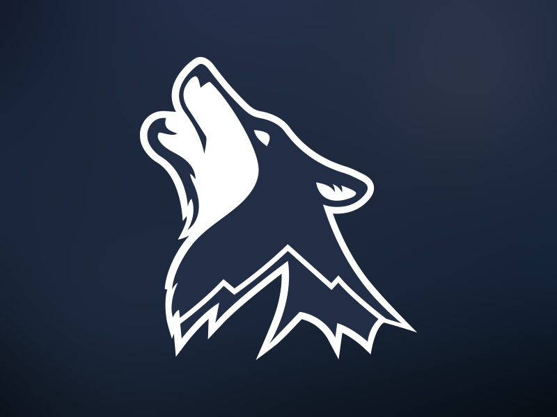 Timpanogos Timberwolves Logo Design On Behance