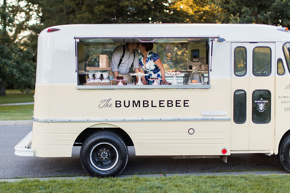 The bumblebee food truck on behance for How to design a food truck