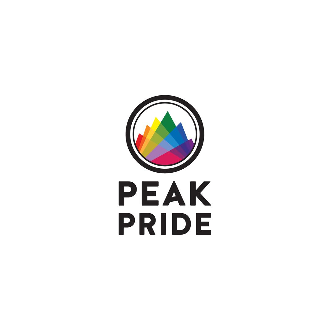 pride Illustrator Logo Design Colourful  graphic design