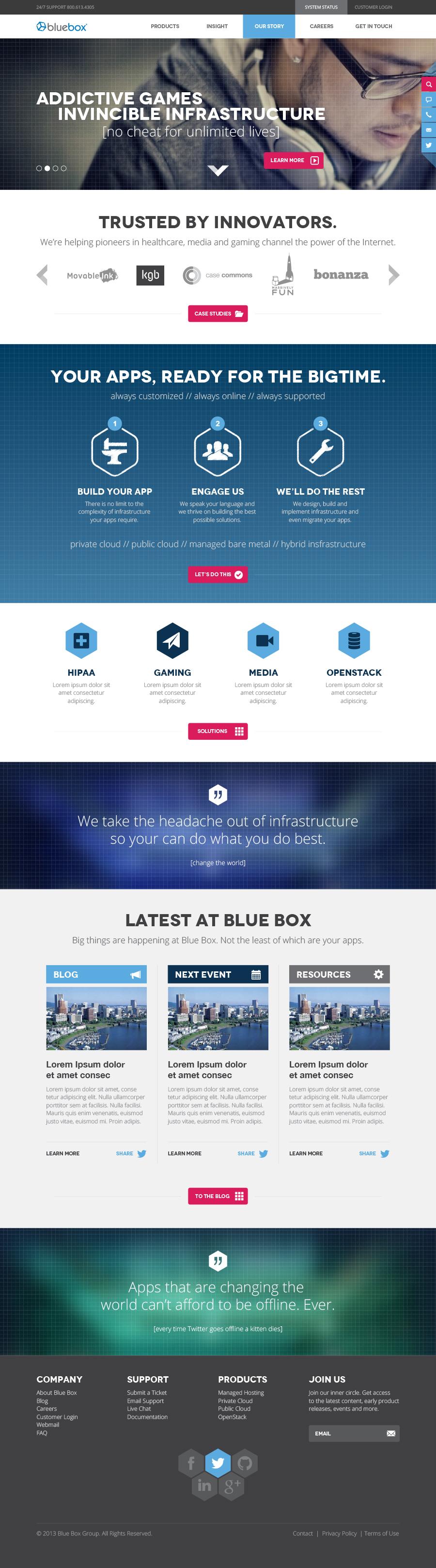 openstack hosting digital Responsive