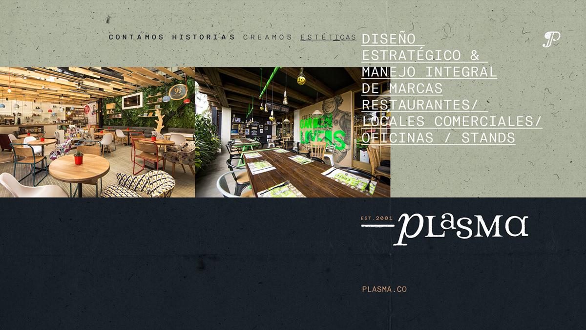 branding  design DUNK logo medellin plasma studio