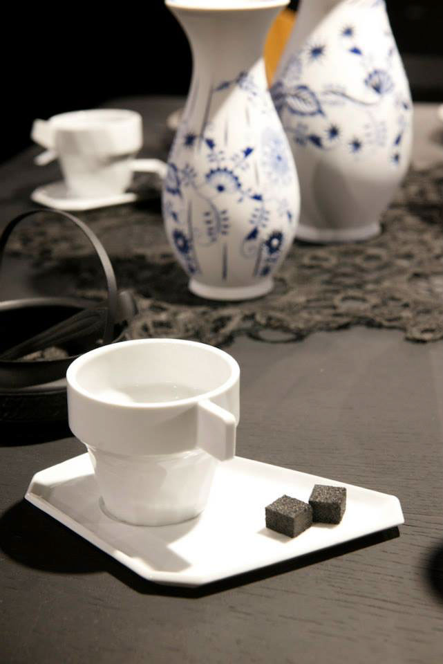 ceramic,porcelain,polygon,cup,saucer,coffee cup,installation