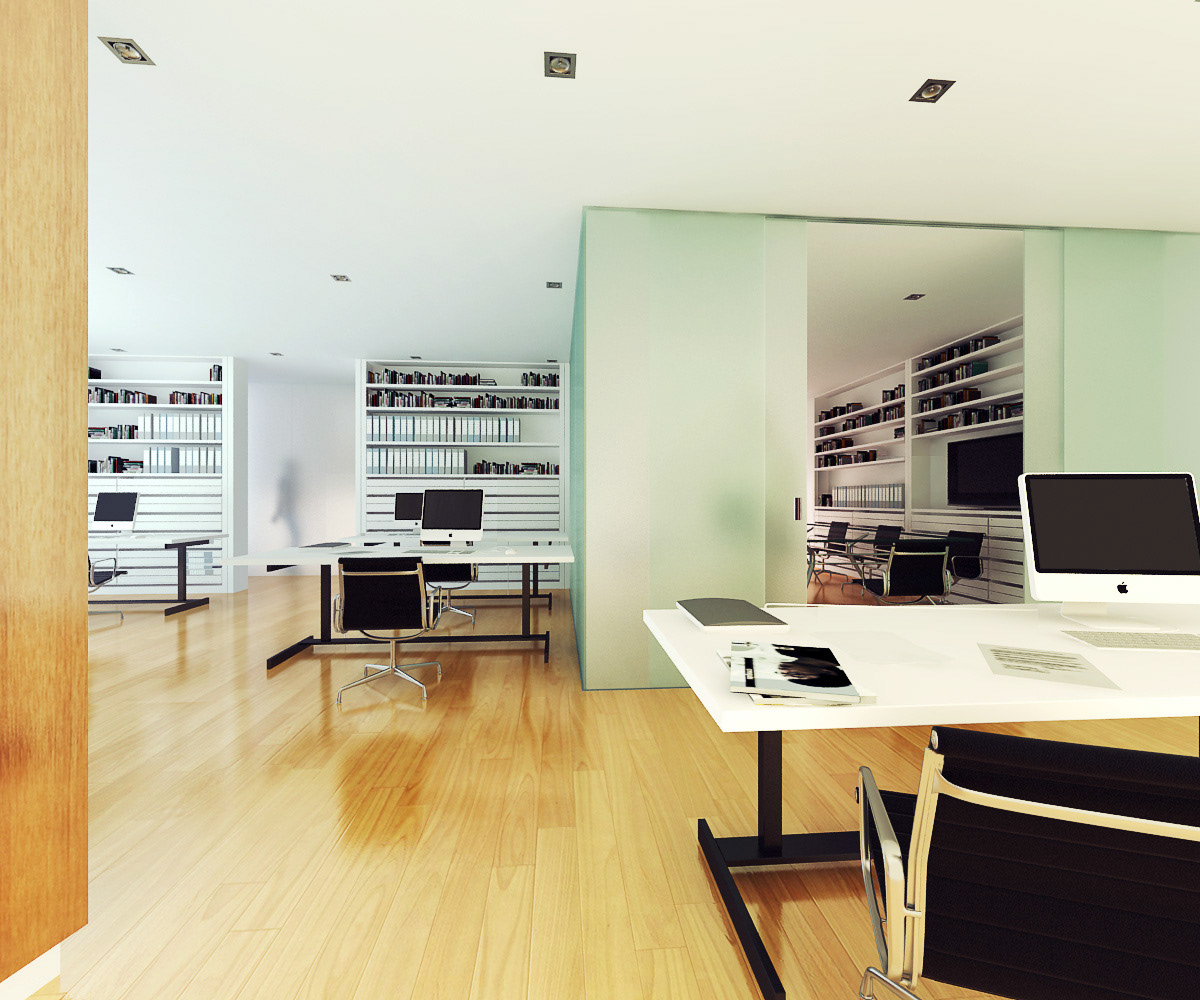 Interiorismo Oficinas:: on Behance