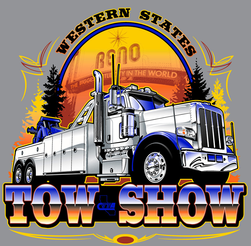 Western States Tow Show TShirt Artwork On Behance - Car show t shirt design template
