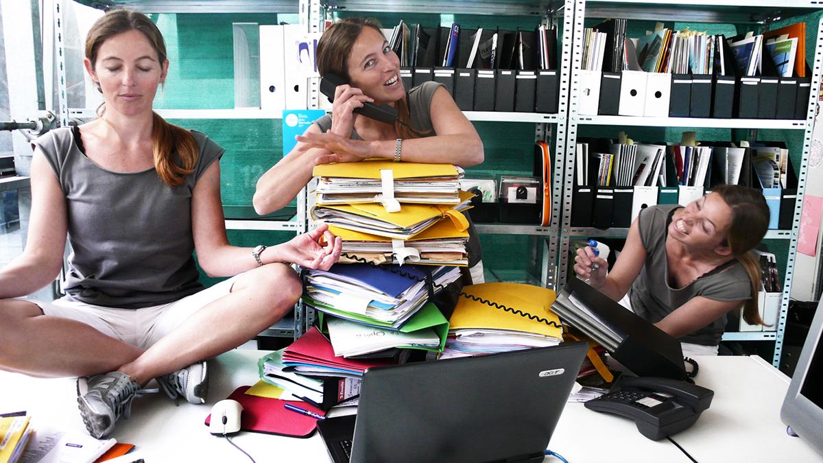 Work  multitasking workplace