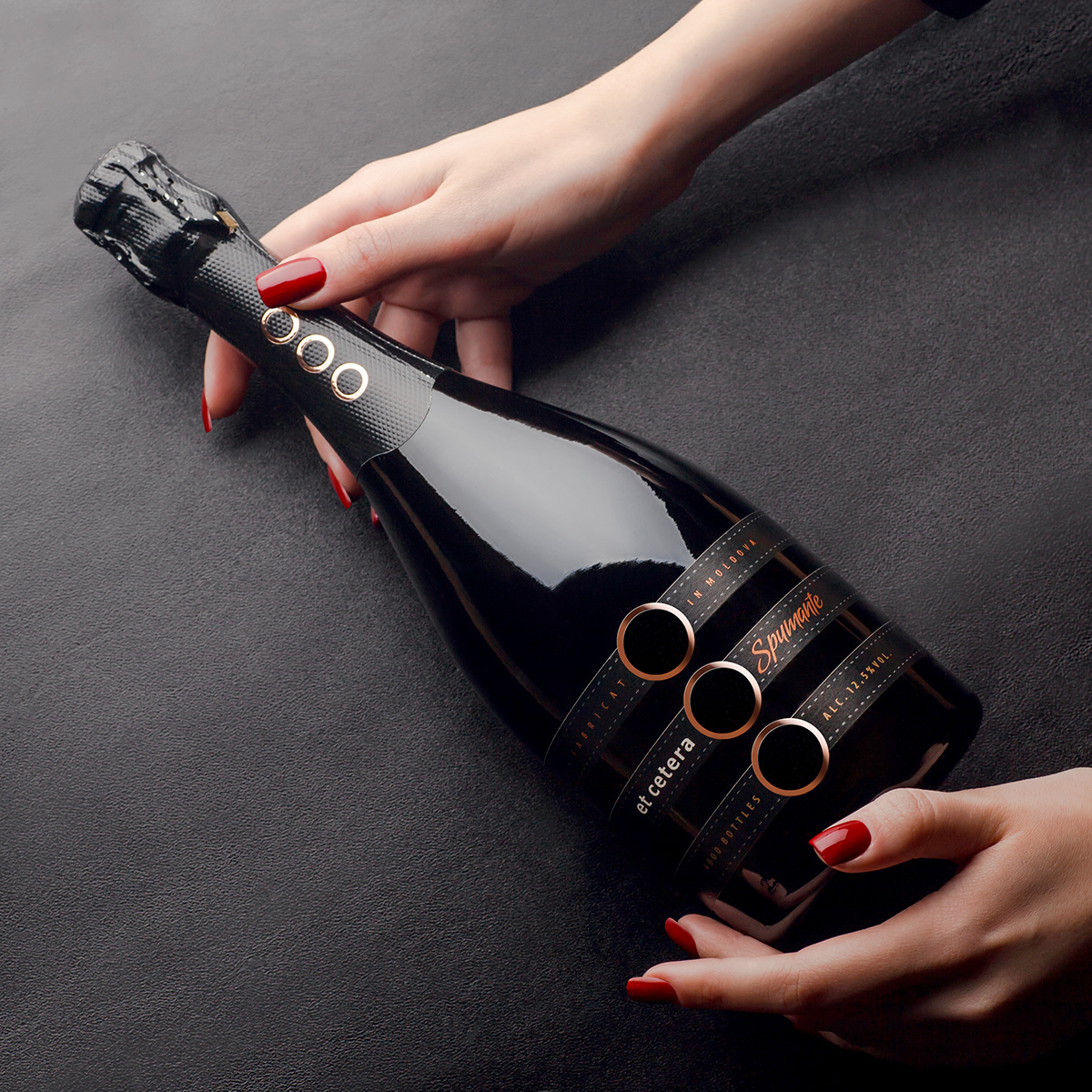 shumilovedesign sparkling wine et cetera Packaging packaging design Photography  lingerie label design