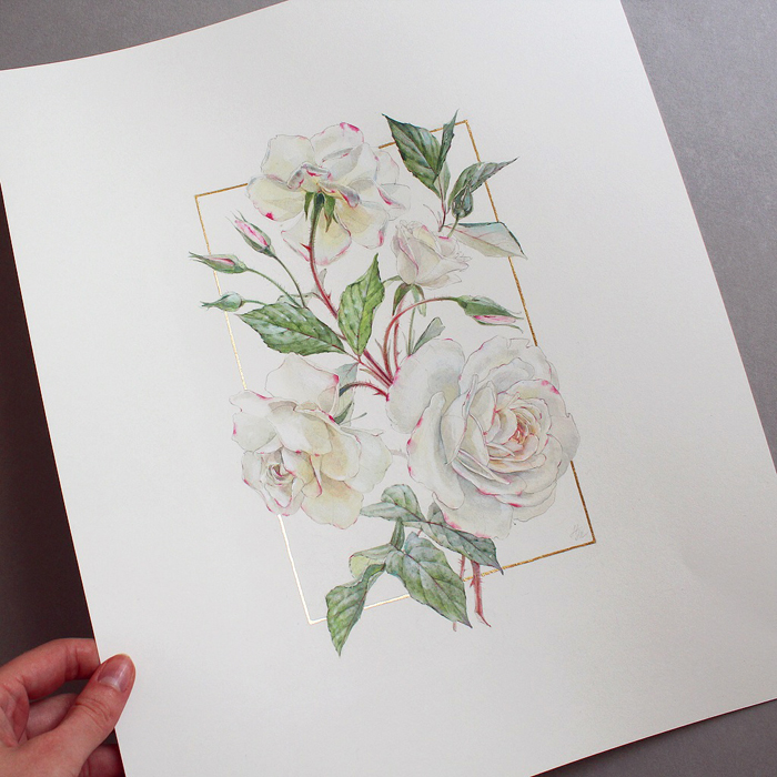 watercolor flowers pictures
