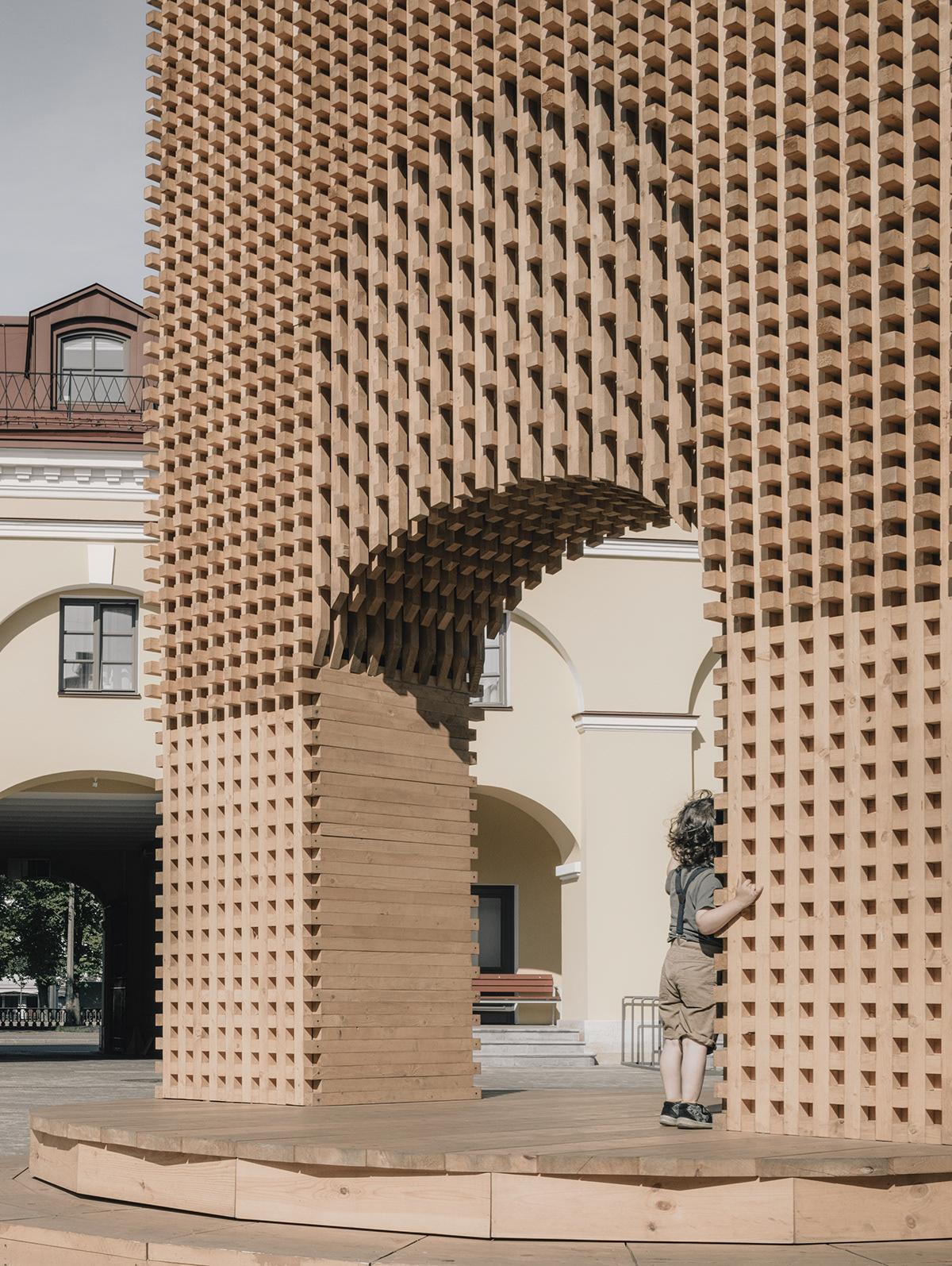 architecture art art object installation Katarsis katarsis architects public space russian arch Saint-Petersburg Urban