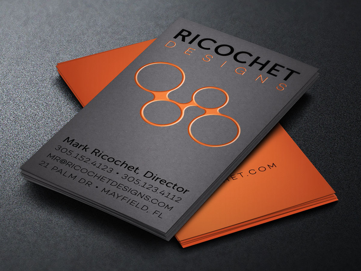 Fashion Modeling Standard Business Cards Templates Designs Business cards for fashion industry