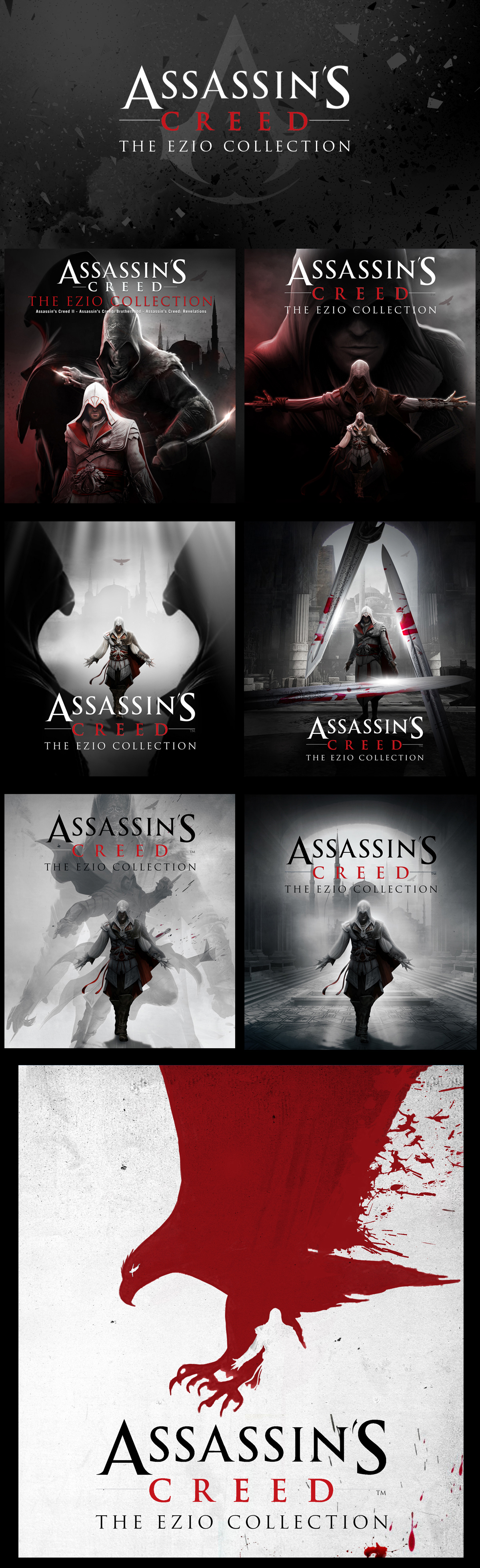 Assassin S Creed The Ezio Collection On Behance