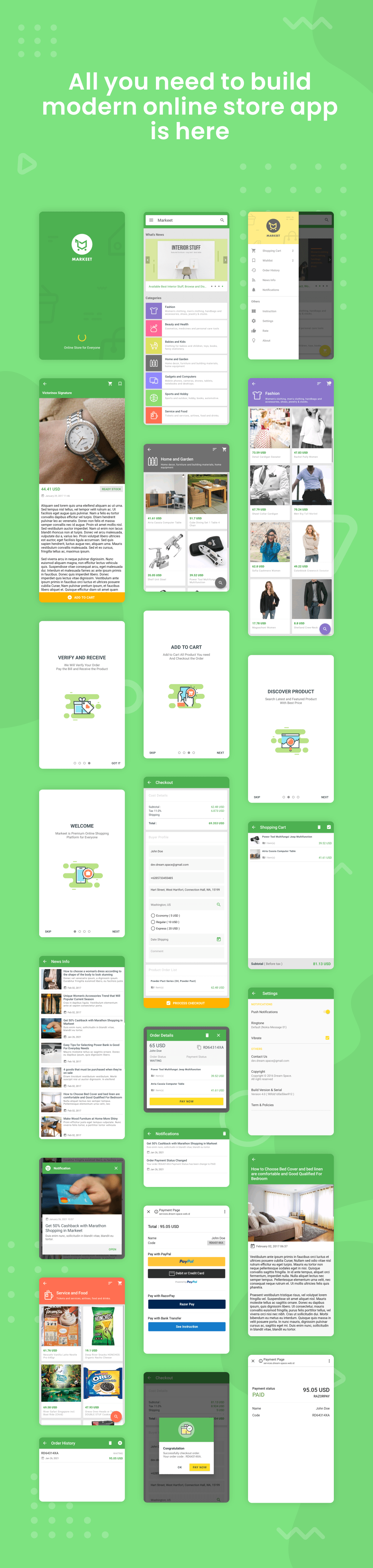 Markeet - Android Online Store 4.0 - 5