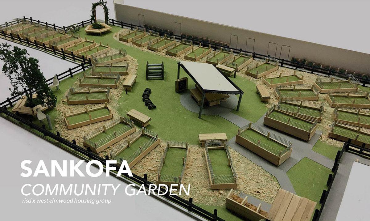 Sankofa Community Garden Design On Risd Portfolios