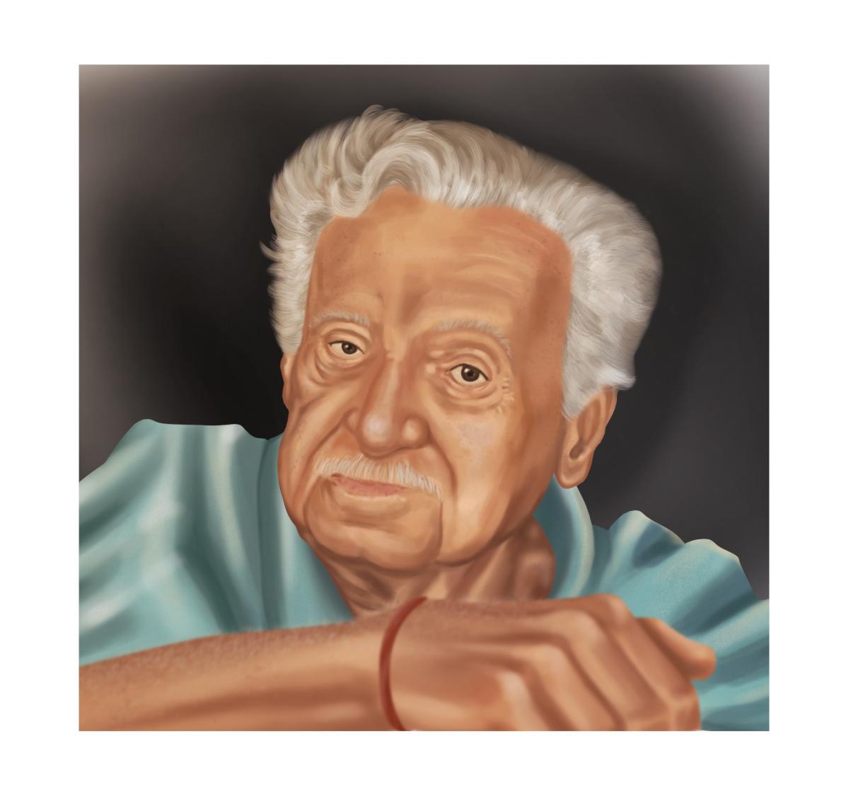 ciencia historia literatura Personalidades pintura digital portrait retrato