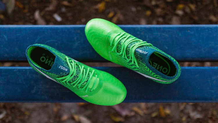 """37362d847 PUMA ONE 18.1 """"Frenzy pack"""" - Q2 colourway, expressing a more confident  colourway, of one of the best leather football boots on the market."""