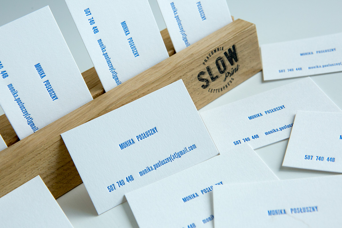 letterpress slowprint businesscard cottonpaper gmundpaper gmundcotton