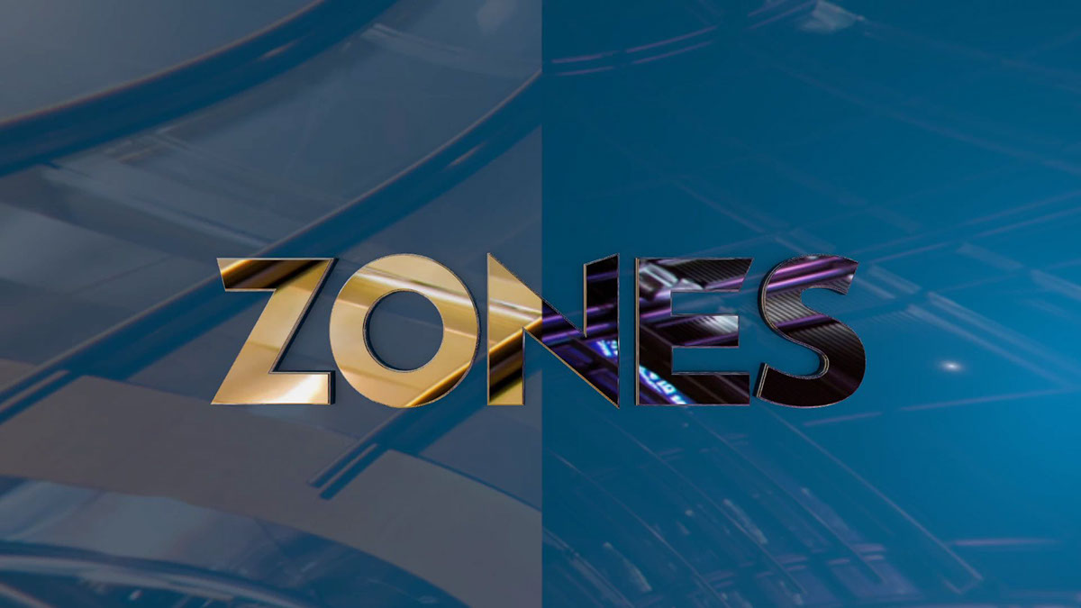 Zones sales confrence Keynote opening video graphics