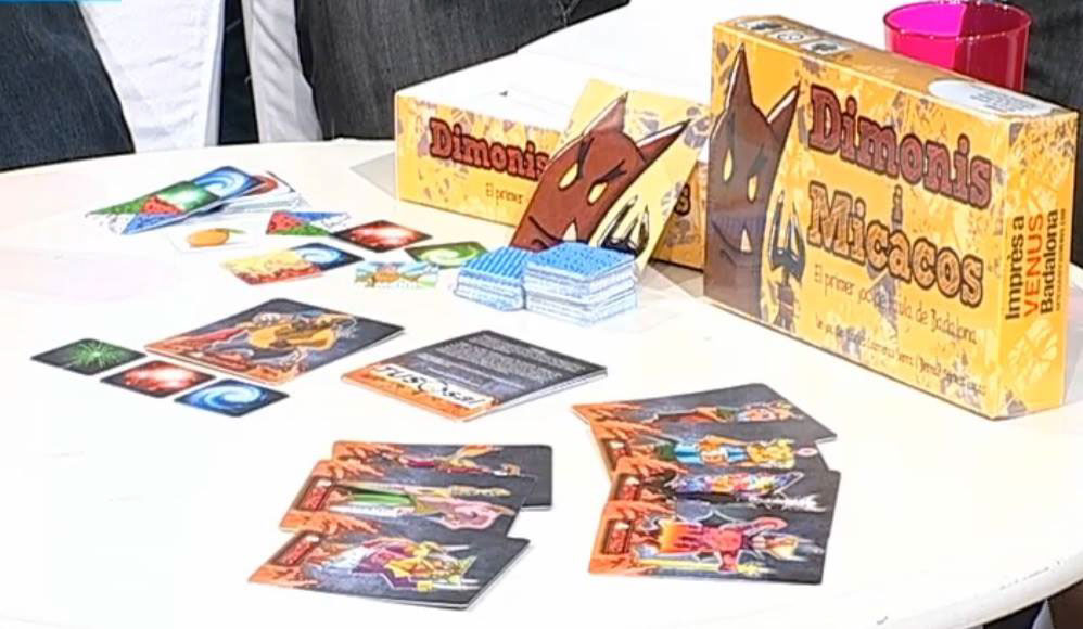 dimonis i micacos juego de mesa game Badalona Festes de Maig dimonis   daemon devil board game