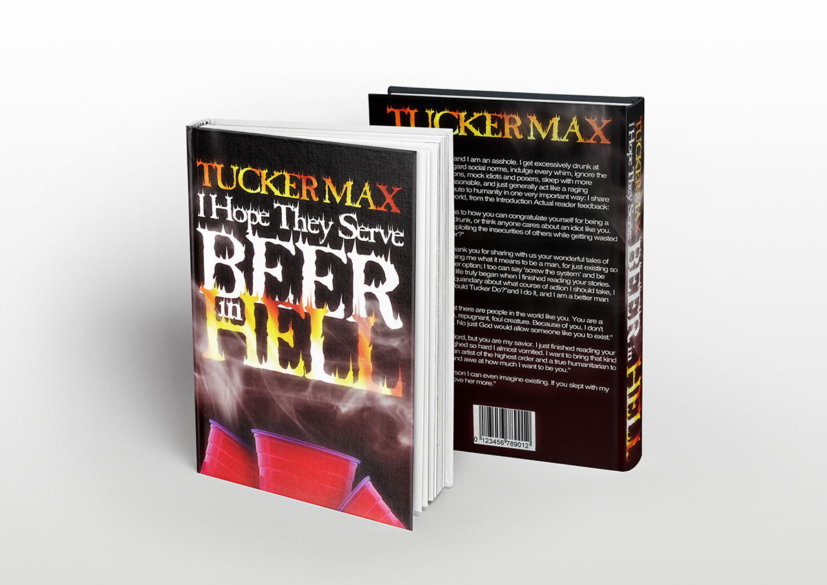 Print design book cover beer in hell on behance solutioingenieria