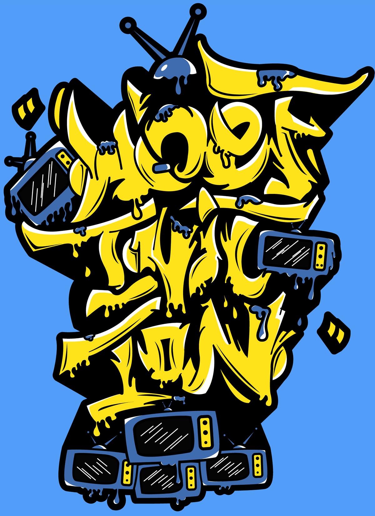 Hi Definition Digital Graffiti 1 On Behance