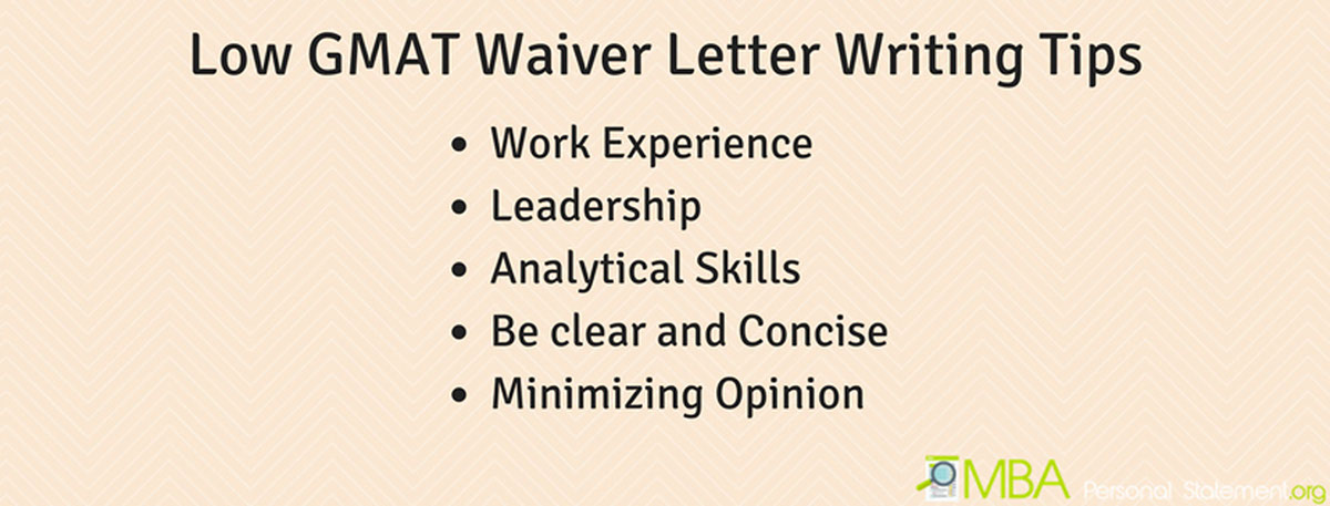 low gmat waiver letter writing tips on pantone canvas gallery