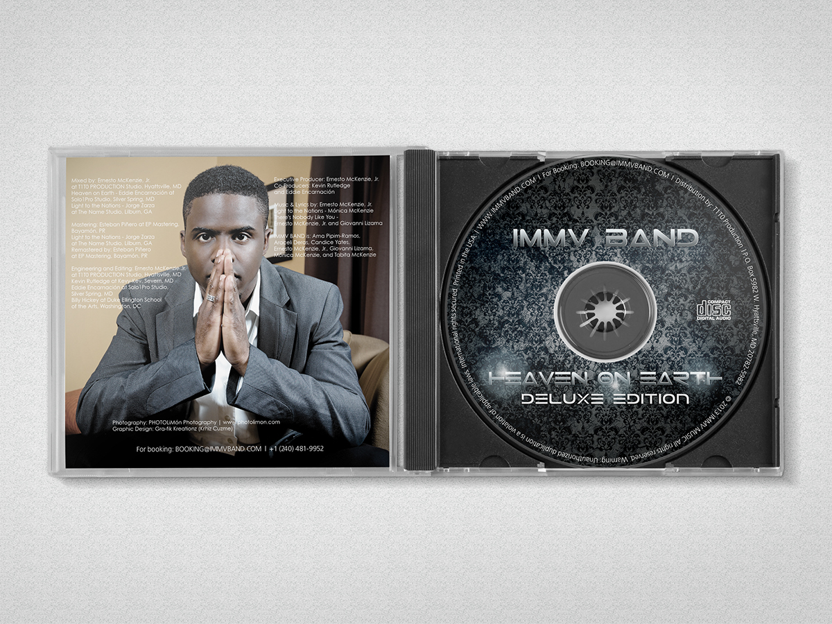 cd album full design front and back cover inserts on behance