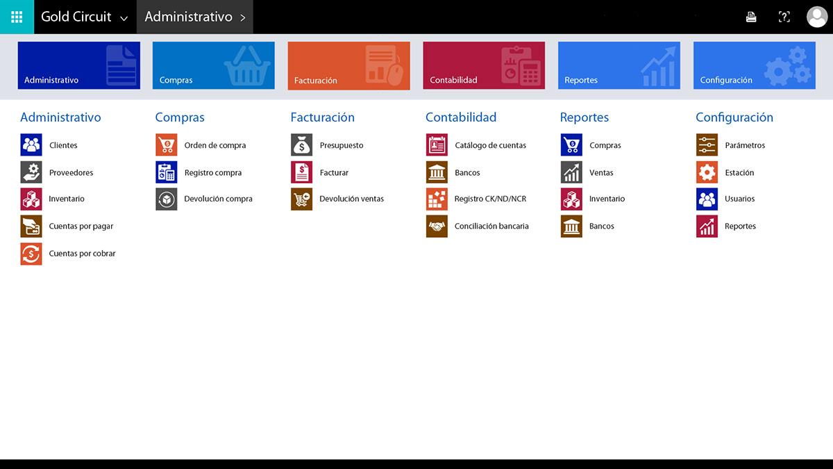 software Software Interface software interface design Gold Circuit management software