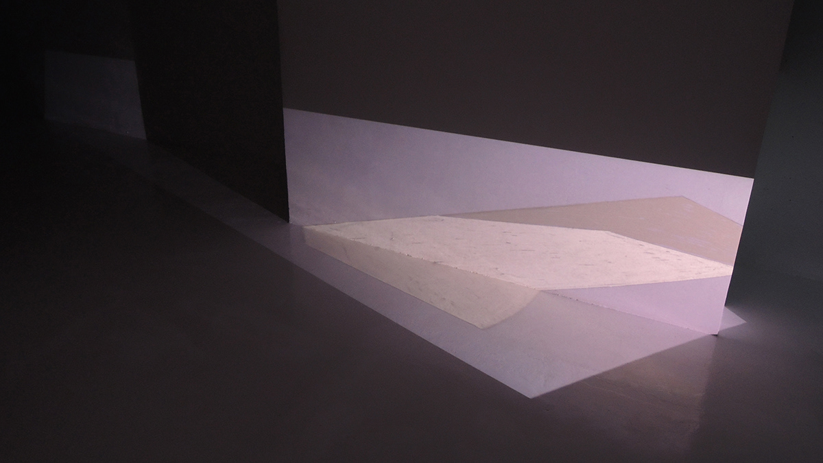 light architectural space illumination intervention