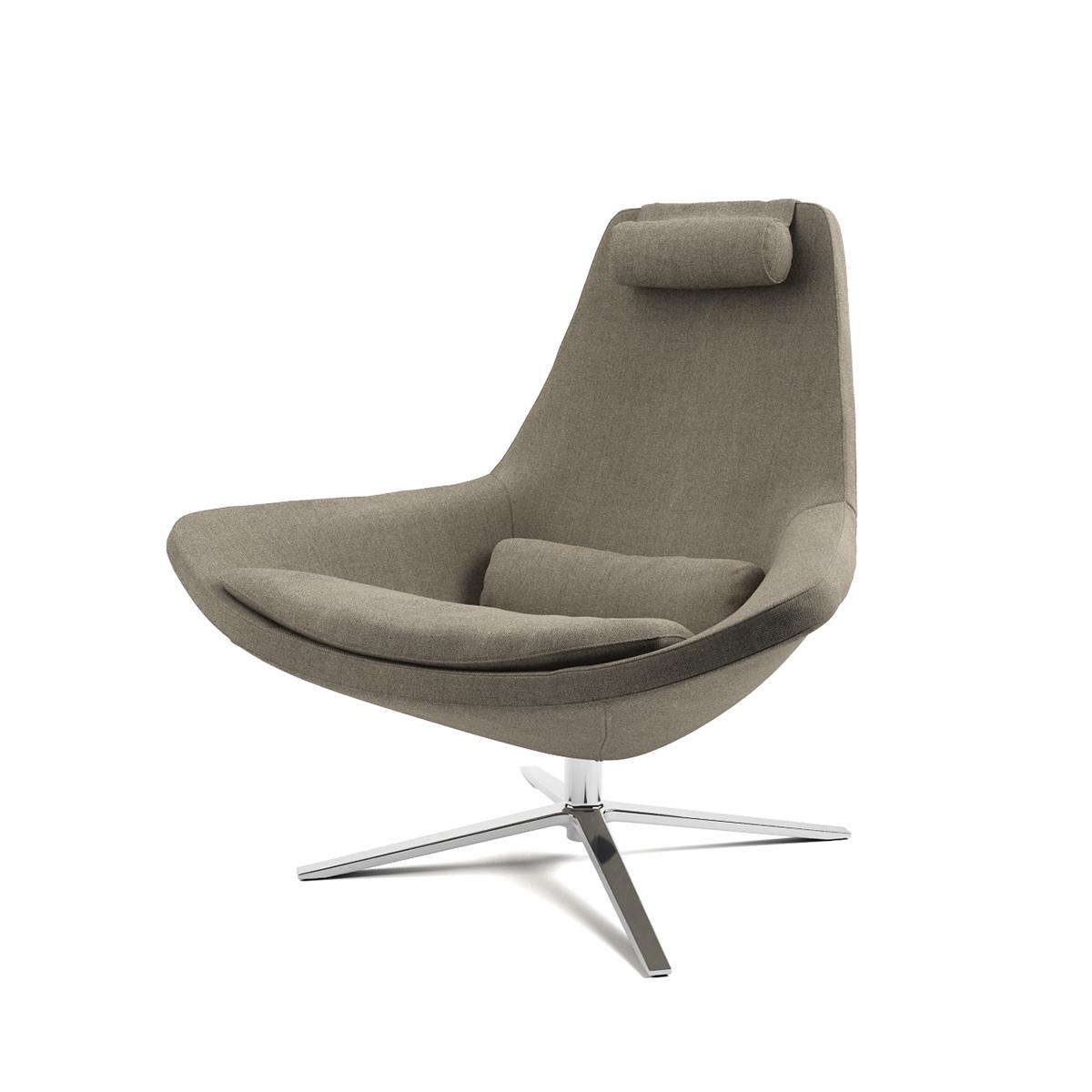 Free 3d Model: Metropolitan Armchair By Bu0026B Italia On Behance