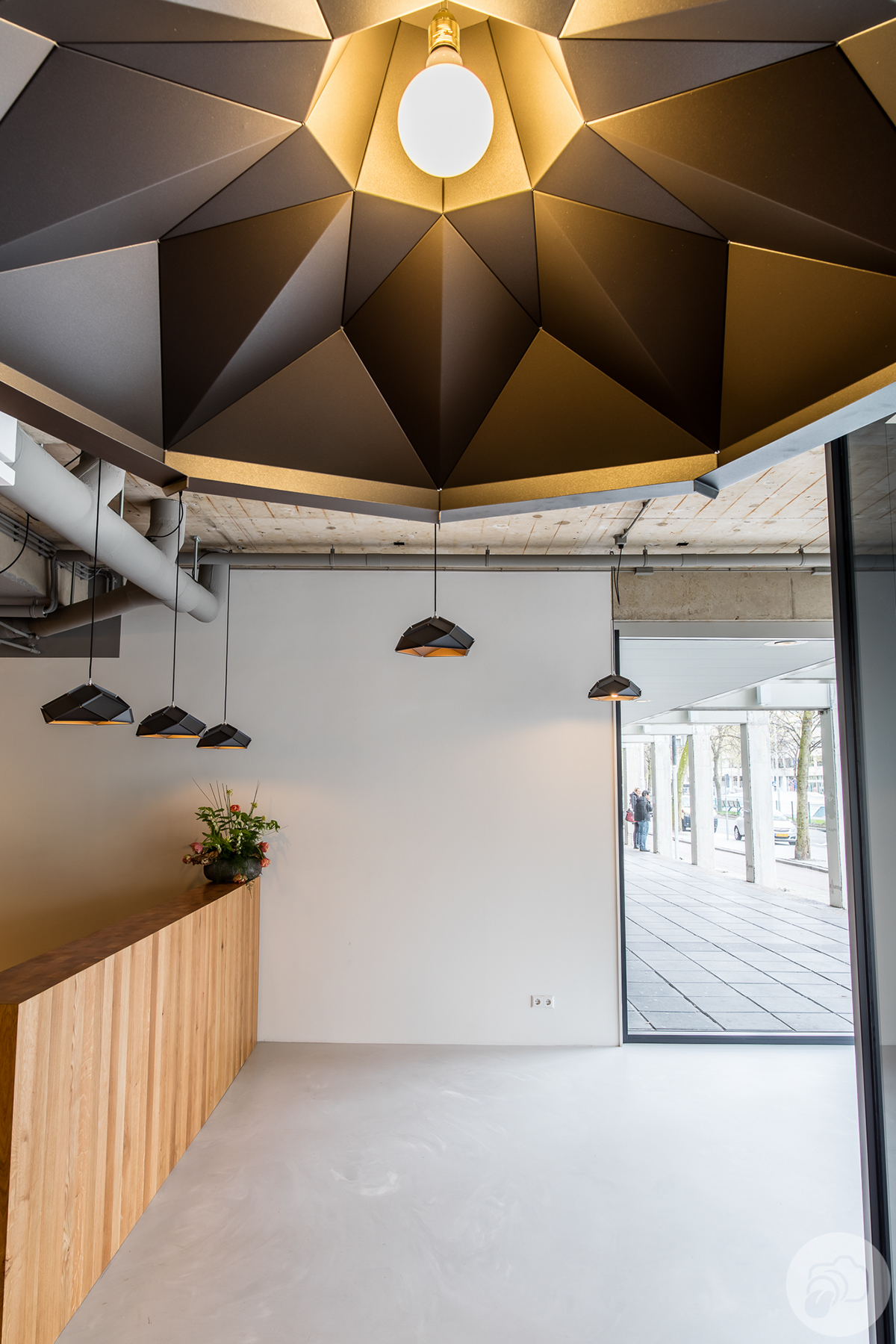 counter lighting http. Above, In The Front Of Picture You See Our Eye Catching Klink XL Lampshade Ø140cmx50cm Powdercoated Color Iron Grey, Matching Small Solid Counter Lighting Http S