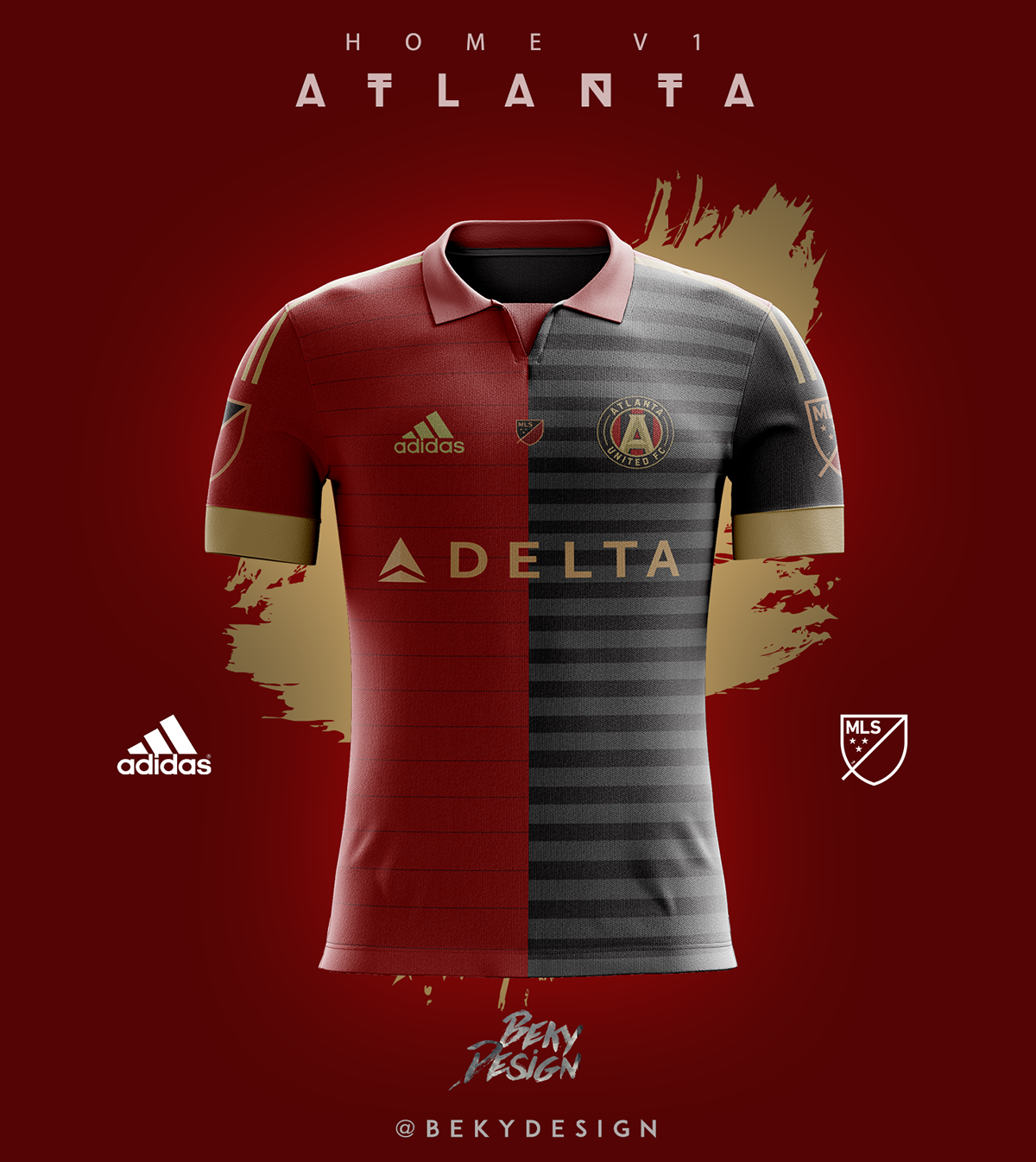 quality design 7a27a d1705 Atlanta United FC - Concepts on Behance
