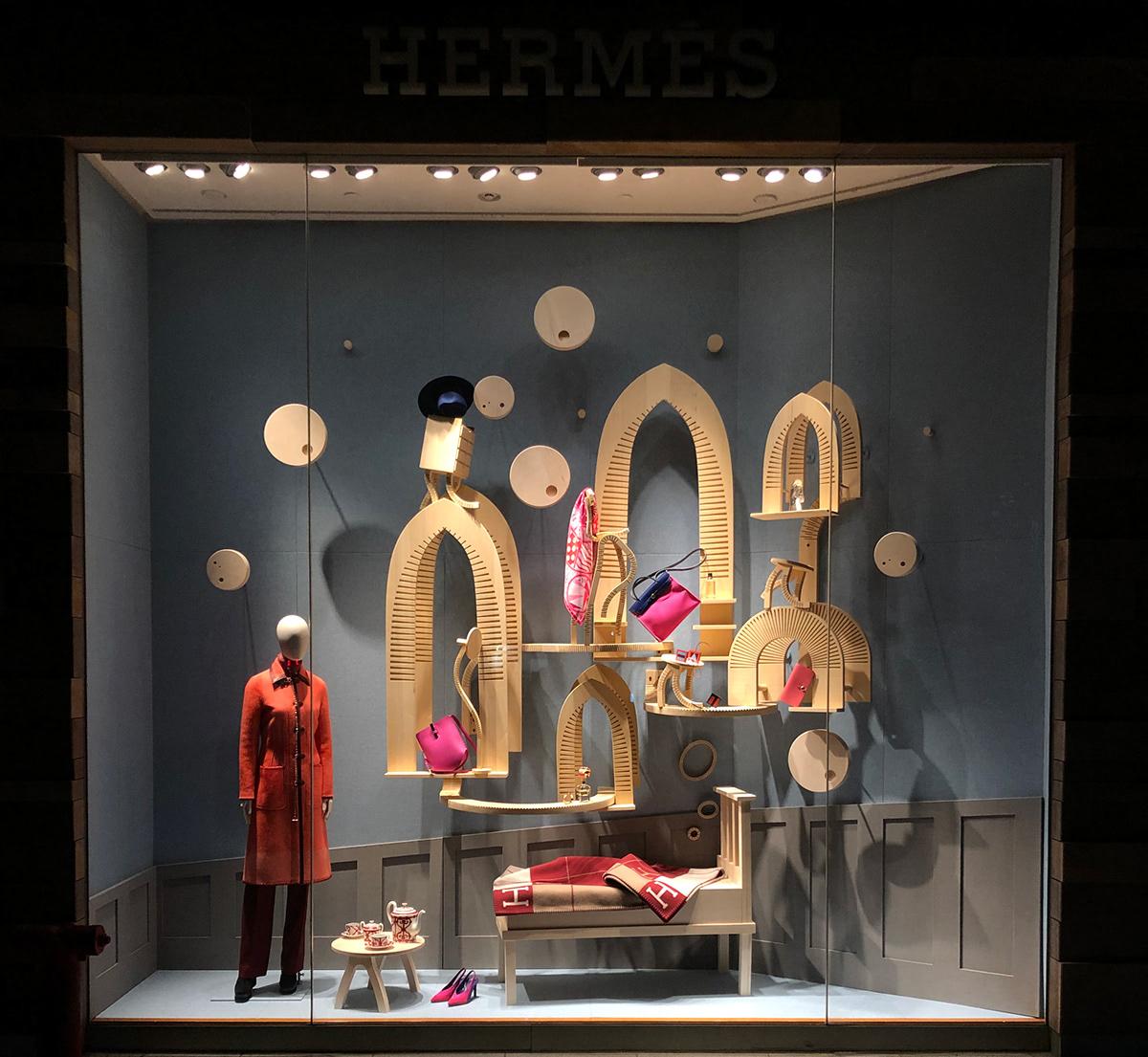 Hermes 2019 Spring Window- Travel In Dreams On RISD Portfolios